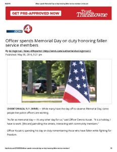 thumbnail of 2016- 05- 30 Officer spends Memorial Day on duty honoring fallen service members _ wivb