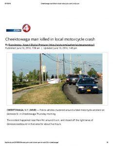thumbnail of 2016- 06-16 Cheektowaga man killed in local motorcycle crash _ wivb