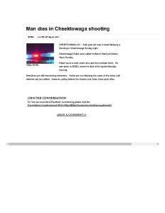 thumbnail of 2016- 07-04 Man dies in Cheektowaga shooting _ WGRZ
