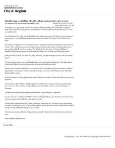 thumbnail of 2016- 07-15 Cheektowaga teen father who shook baby sentenced to up to 9 years – City & Region – The Buffalo News