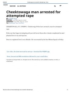 thumbnail of 2016- 08-22 Cheektowaga man arrested for attempted rape – WKBW