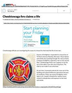 thumbnail of 2016- 09-05 Cheektowaga fire claims a life _ WBFO