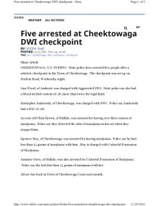 thumbnail of 2016-11-24-five-arrested-at-cheektowaga-checkpoint-wkbw
