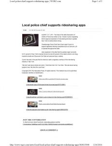 thumbnail of 2016-12-06-police-chiefs-support-uber-wgrz