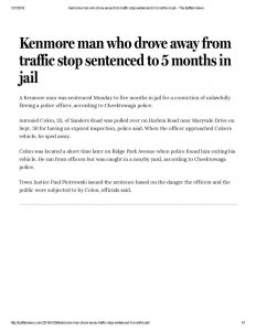 thumbnail of 2016-12-07-kenmore-man-who-drove-away-from-traffic-stop-sentenced-to-5-months-in-jail-the-buffalo-news