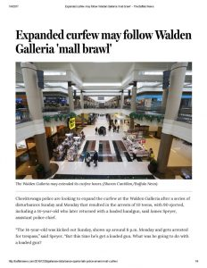 thumbnail of 2016- 12-28 Expanded curfew may follow Walden Galleria 'mall brawl' – The Buffalo News