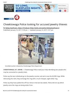 thumbnail of 2017- 01-15 Cheektowaga Police looking for accused jewelry thieves _ wivb