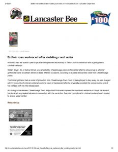 thumbnail of 2017- 02-16 Buffalo man sentenced after violating court order _ www.lancasterbee