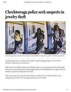 thumbnail of 2017- 03-10 Cheektowaga police seek suspects in jewelry theft – The Buffalo News