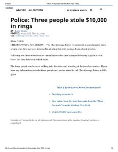 thumbnail of 2017- 03-10 Police_ Three people stole $10,000 in rings – WKBW