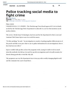thumbnail of 2017- 03-17 Police tracking social media to fight crime – WKBW