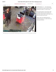 thumbnail of 2017- 03-17 Suspect steals $3,000 in guitars from Guitar Center _ Cheektowaga Chronicle
