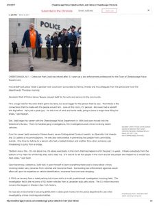 thumbnail of 2017- 03-30 Cheektowaga Police Detective Mark Jedd retires _ Cheektowaga Chronicle
