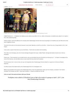 thumbnail of 2017- 04-01 Firefighters fight flames in Cheektowaga garage _ Cheektowaga Chronicle