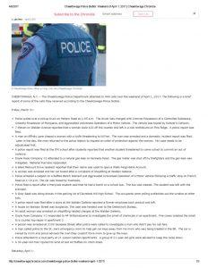 thumbnail of 2017- 04-04 Cheektowaga Police Blotter_ Weekend of April 1, 2017 _ Cheektowaga Chronicle