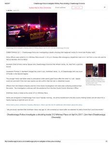 thumbnail of 2017- 04-04 Cheektowaga Police investigates Whitney Place shooting _ Cheektowaga Chronicle