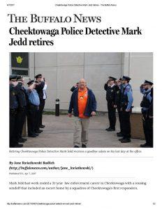 thumbnail of 2017-04-07 Cheektowaga Police Detective Mark Jedd retires – The Buffalo News