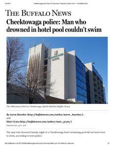 thumbnail of 2017- 04-09 Cheektowaga police_ Man who drowned in hotel pool couldn't swim – The Buffalo News