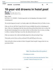 thumbnail of 2017- 04-10 18-year-old drowns in hotel pool – WKBW