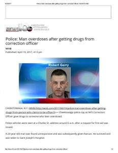 thumbnail of 2017- 04-19 Police_ Man overdoses after getting drugs from correction officer _ NEWS10 ABC