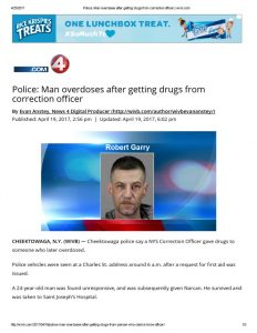 thumbnail of 2017- 04-19 Police_ Man overdoses after getting drugs from correction officer _ wivb
