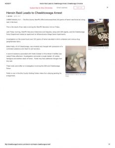 thumbnail of 2017- 04-21 Heroin Raid Leads to Cheektowaga Arrest _ Cheektowaga Chronicle
