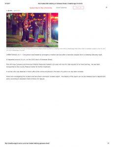 thumbnail of 2017- 04-29 Man treated after stabbing on Genesee Street _ Cheektowaga Chronicle