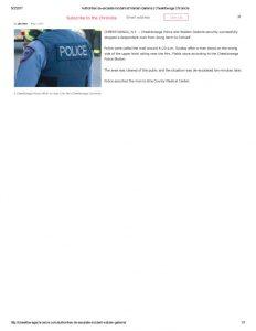 thumbnail of 2017- 05-01 Authorities de-escalate incident at Walden Galleria _ Cheektowaga Chronicle