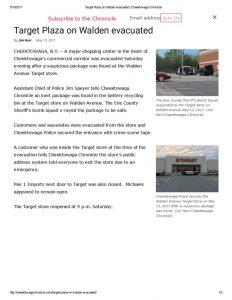 thumbnail of 2017- 05-13 Target Plaza on Walden evacuated _ Cheektowaga Chronicle