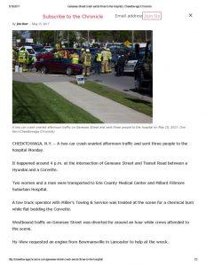 thumbnail of 2017- 05-15 Genesee Street crash sends three to the hospital _ Cheektowaga Chronicle