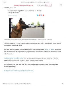 thumbnail of 2017- 05-18 CPD K-9 Wazi and partner profiled in WIVB report _ Cheektowaga Chronicle