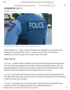 thumbnail of 2017- 05-29 Cheektowaga Police Blotter_ Memorial Day Weekend 2017 _ Cheektowaga Chronicle