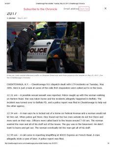 thumbnail of 2017- 05-31 Cheektowaga Police Blotter_ Tuesday, May 30, 2017 _ Cheektowaga Chronicle
