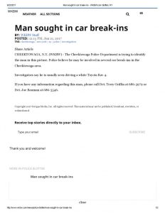 thumbnail of 2017- 06-21 Man sought in car break-ins – WKBW