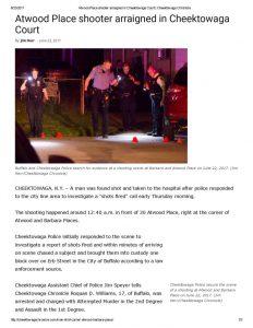 thumbnail of 2017- 06-22 Atwood Place shooter arraigned in Cheektowaga Court _ Cheektowaga Chronicle