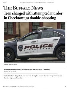 thumbnail of 2017- 06-22 Teen charged with attempted murder in Cheektowaga double-shooting – The Buffalo News