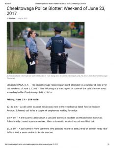 thumbnail of 2017- 06-26 Cheektowaga Police Blotter_ Weekend of June 23, 2017 _ Cheektowaga Chronicle