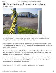 thumbnail of 2017- 07-02 Shots fired on Aero Drive, police investigate _ Cheektowaga Chronicle