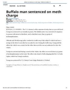 thumbnail of 2017- 07-28 Buffalo man sentenced on meth charge – WKBW