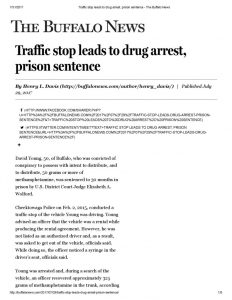 thumbnail of 2017- 07-29 Traffic stop leads to drug arrest, prison sentence – The Buffalo News