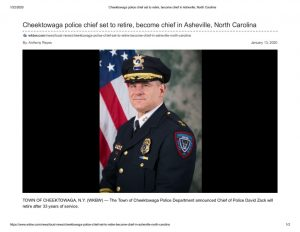 thumbnail of 2020- 01-13 Cheektowaga police chief set to retire, become chief in Asheville, North Carolina