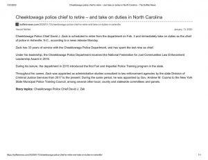 thumbnail of 2020- 01-13 Cheektowaga police chief to retire – and take on duties in North Carolina – The Buffalo News