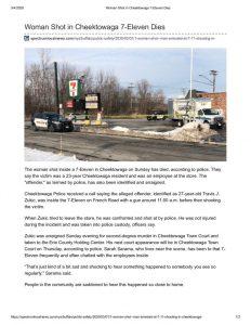 thumbnail of 2020- 03-01 Woman Shot in Cheektowaga 7-Eleven Dies